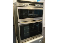 Bo23 stainless steel rangemaster integrated double electric oven comes with warranty can deliver