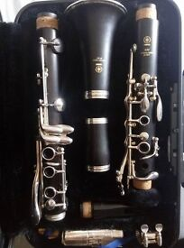YAMAHA 450 Clarinet. Natural Grenadilla wood. Excellent condition.