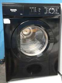 C178 black baumatic 6kg vented dryer comes with warranty can be delivered or collected
