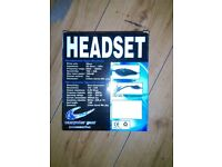 computer head set brand new in box