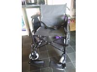 for sale 22inch bariatric 22inch wheelchair as new