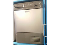 b75 graphite hotpoint 7kg condenser sensor dryer comes with warranty can be delivered or collected