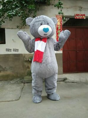 Wedding Teddy Bear Mascot Costume Cosplay Party Fancy Dress Adults Parade Suit  - Adult Teddy Bear Costume