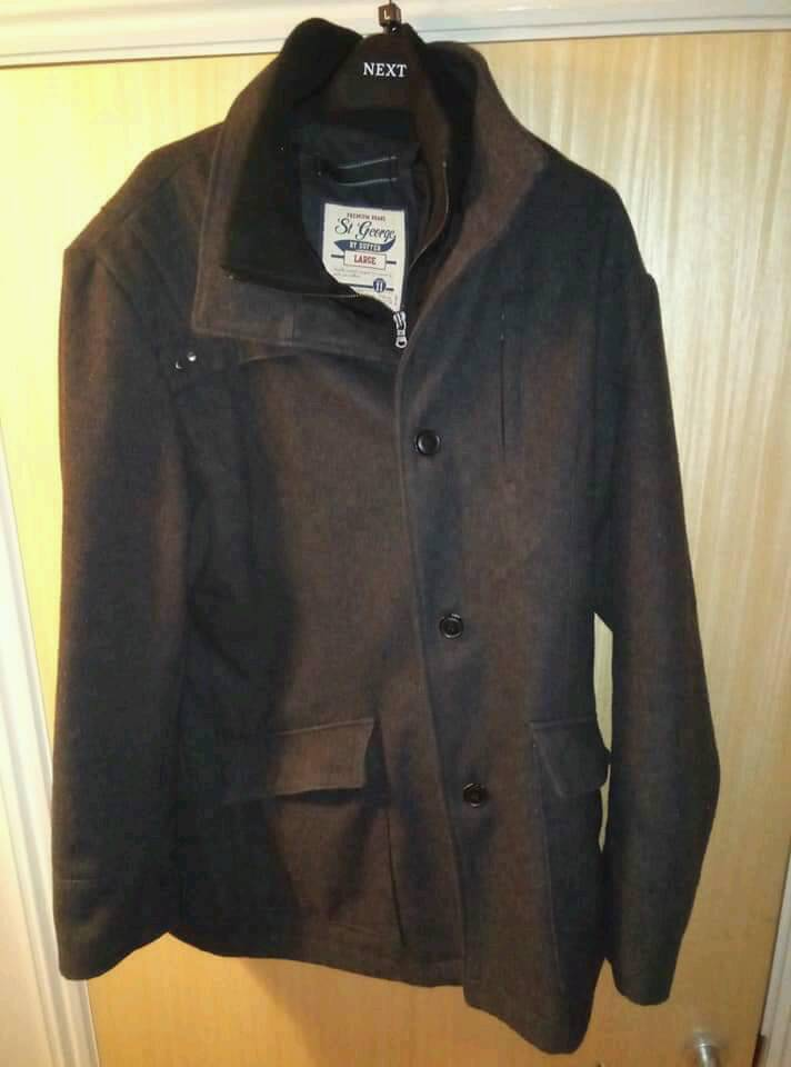 Mans St George by Duffer coat