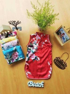 NEW Vietnamese Chinese Traditional Dress for Kids Girls AO DAI, SUON XAM tre em (Chinese Attire For Kids)