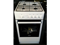p452 white gorenje 50cm gas cooker comes with warranty can be delivered or collected