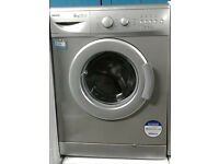 D346 silver beko 6kg 1300spin A+A rated washing machine comes with warranty can be delivered