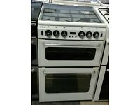 j250 white newworld 55cm gas cooker comes with warranty can be delivered or collected
