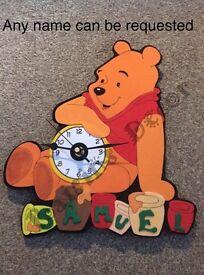 Hand make cartoon based clock