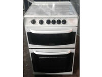 BB158 white cannon 55cm gas cooker comes with warranty can be delivered or collected