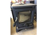 NEW. HENLEY CAMBRIDGE 5 Kw DEFRA APPROVED STOVE RRP £700 - 30%