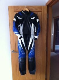 Ladies 2-piece Dainese suit.