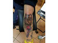 tattoo apprenticeship !!!!