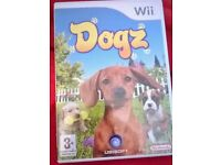 Wii DOGZ GAME BOXED £5