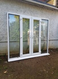 upvc french doors panet( 2 SET)