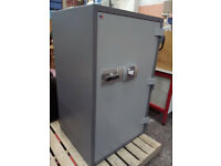 Large fire proof safe with keypad