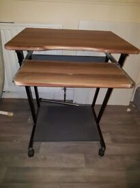 Computer table for sale, good condition.