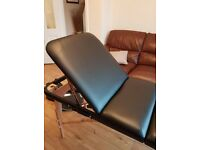 Beauty couch/massage table slimline