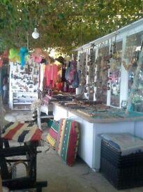 Summer Job in Corfu Tourist Gift Shop.
