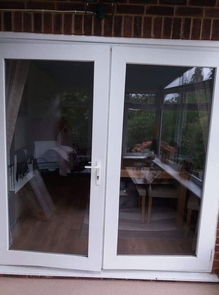 Patio French door double glazed door