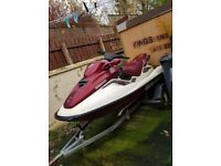 Seadoo jet ski project needs engine and paint work forsale or swap