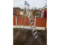 Saftey Ladders With Handrail - Excellent Condition