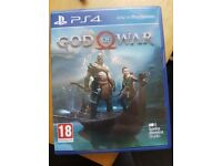 God of war with pre order code!