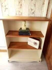 pine painted bookcase