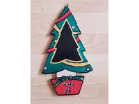 Handcrafted Mdf 'Countdown to Christmas Tree' For Sale