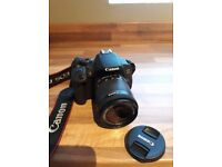 Canon 700d DSLR Camera - 18-55mm lens, Strap, Battery, Charger, LOW SHUTTER COUNT