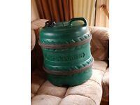 fresh water barrel
