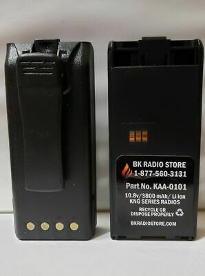 Bk Kaa-0101 3800 Mah Battery For Bk Radio Kngkng2 With Belt Clip