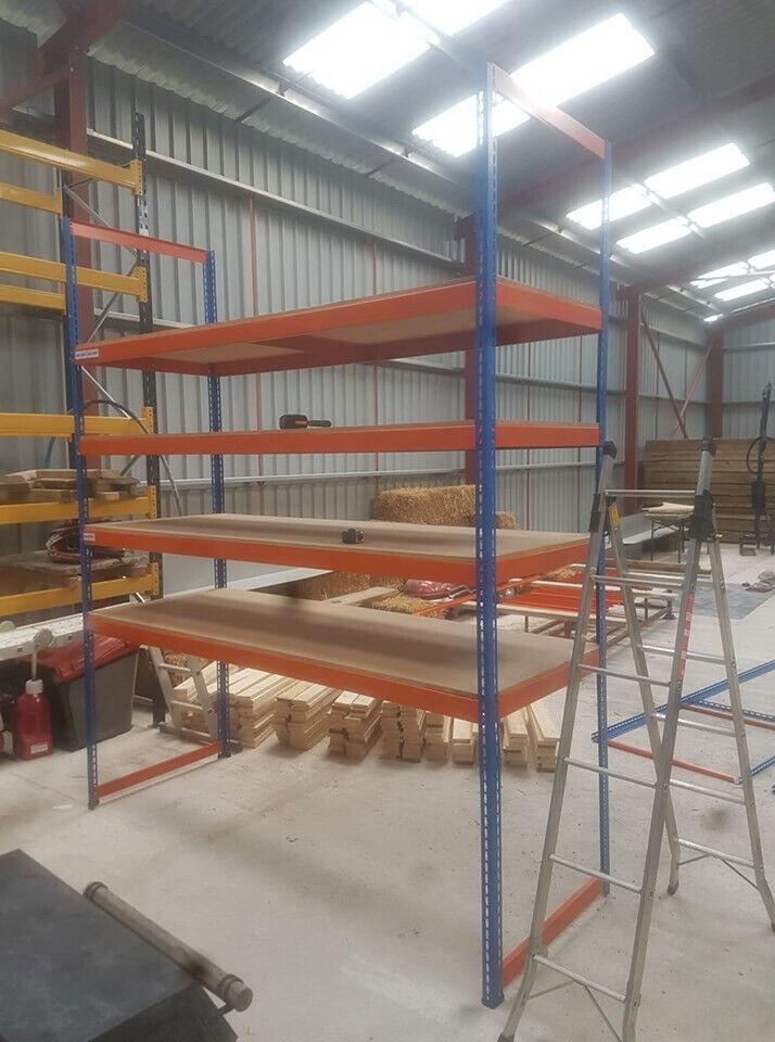 Industrial Racking - Storage Garage Workshop Pallet Shelving | in Wells,  Somerset | Gumtree