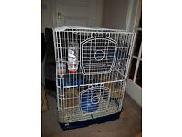 Small animal / Rodent cage 3 tier