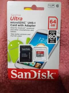 Sandisk ultra cards
