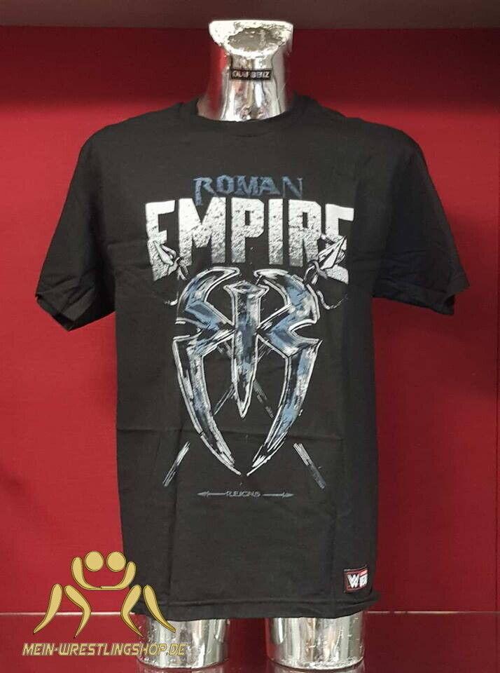 "WWE Roman Reigns ""Roman Empire"" Authentic T-Shirt"