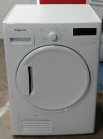 l178 white hotpoint 8kg B rated condenser dryer new graded with 12 month warranty can be delivered