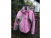 Teen / Ladies Ski Jacket - Good Condition Size 15-17 yrs or Lady 10-12