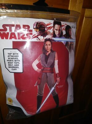 New Adult Star Wars Rey Halloween Costume Size Small 6 - 10