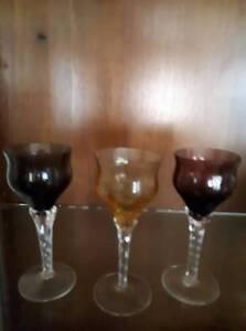 Venetian Liquor Glasses Yowie Bay Sutherland Area Preview