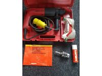 hilti te10 drill comes with the transformer can be seen working ,little use,abingdon