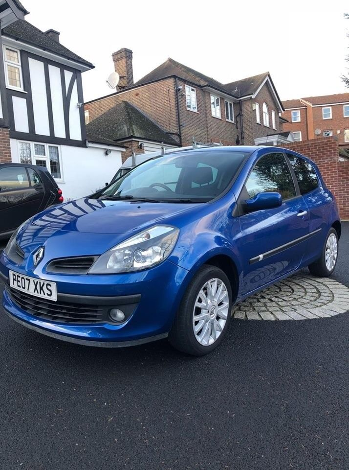 Renault Clio Dynamique S 2007 3dr 1.4 16v Petrol Manual 2 Owners Not Corsa Astra Polo
