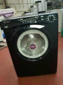 Black Candy Washing machine 8kg, 1400 ss