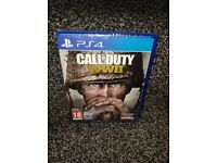 Ps4 COD - call of duty WWII brand new