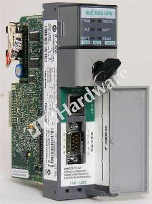 Allen Bradley 1747-l552 C Slc 500 Slc 505 Controller Cpu 32k Frn 13