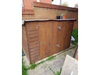 6ftx3ft Wooden Bike Shed For Sale
