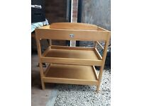 Baby Weavers Wooden Changing Table- Brand New****** Fantastic Condition