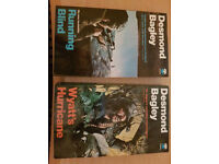 2 paperback books by Desmond Bagley