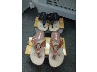 toe post sandals new in boxes