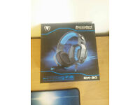 Gaming headset blue lights (NEW)